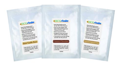 HCG Shake Samples - 15 Single Serving Packs 00003