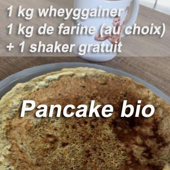 Préparation pour pancakes bio des Champions
