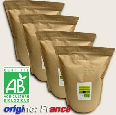 4 kg Code 0 Blanc d'oeuf bio poudre