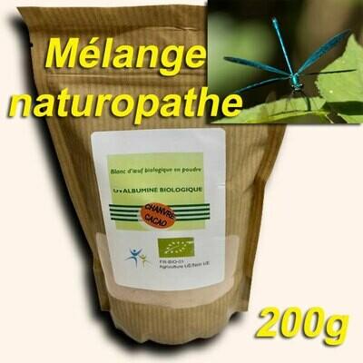 Mélange naturopathe: 200g ou 500g (60% Protéines sans sucre)