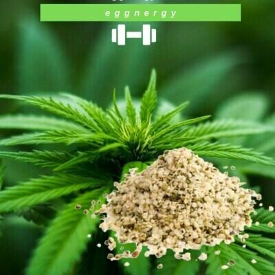 Graines de chanvre bio décortiquées en 200 g