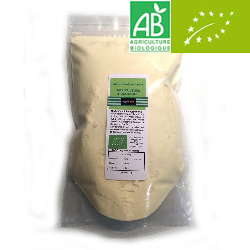 200 g Bio Code 0 Blanc d'oeuf poudre 00171