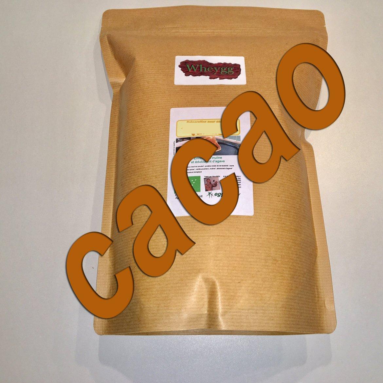Wheygg bio: Cacao maigre 10/12 - 1 kg 00413
