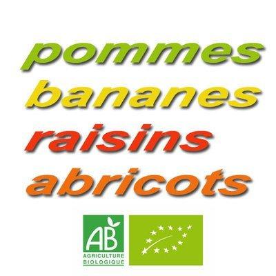 Mélange fruits secs (bananes, raisins, pommes et abricots) en 200 g