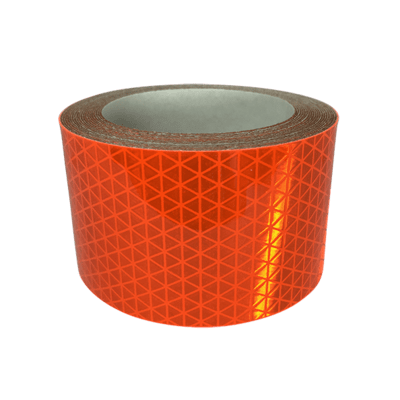 High Intensity Reflective Tape - Orange