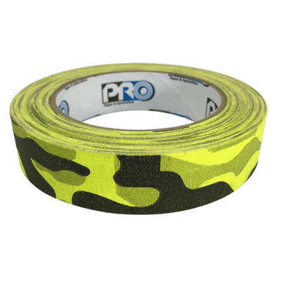 Camouflage Gaffer Tape, Neon Yellow