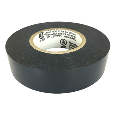 Black Electrical Tape (CPSIA)