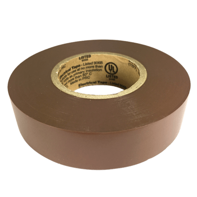 Chocolate Brown Electrical Tape (CPSIA)