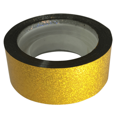 Budget Metallic Dust Tape, Gold