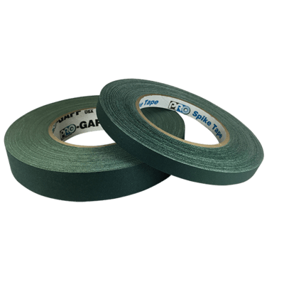 Matte Gaffer Tape, Dark Green (Pro-Gaff)