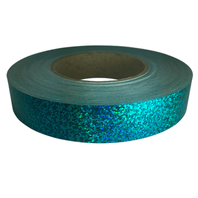 Holographic Sequin Tape, Aquamarine