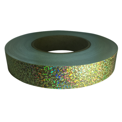 Holographic  Sequin Tape, Gold