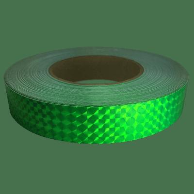 Prismatic Tape, Fluorescent Green