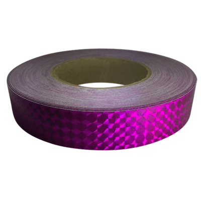 Prismatic Tape, Rubellite (Fucshia)