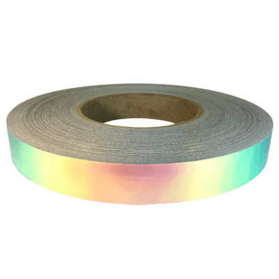 Pink Iridium Holographic Tape