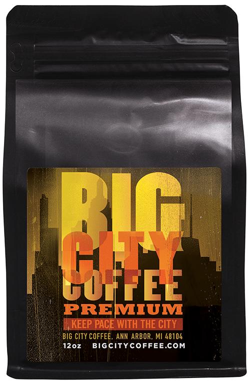 Big City Premium Organic Coffee BCP-12