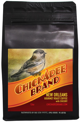 Chickadee Brand Organic Coffee with Chicory