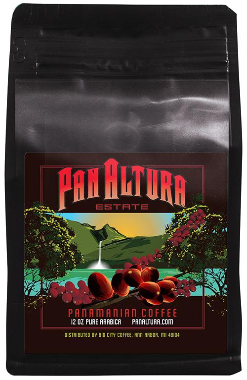 PanAltura 'Reserva' Organic Panama Estate PRP-W12