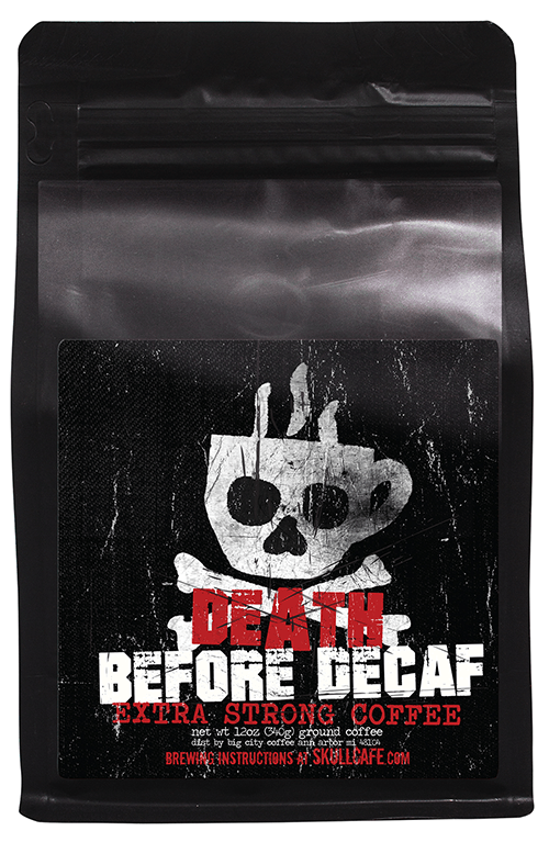 Death Before Decaf Extra Strong DBD-G12