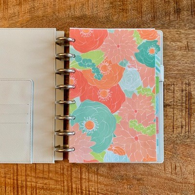 2019 Planner, Linen Leather Cover (Personal Size)