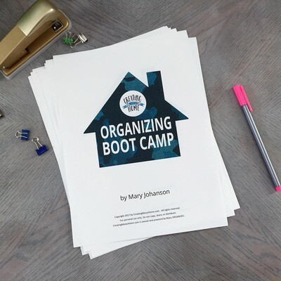 Organizing Boot Camp