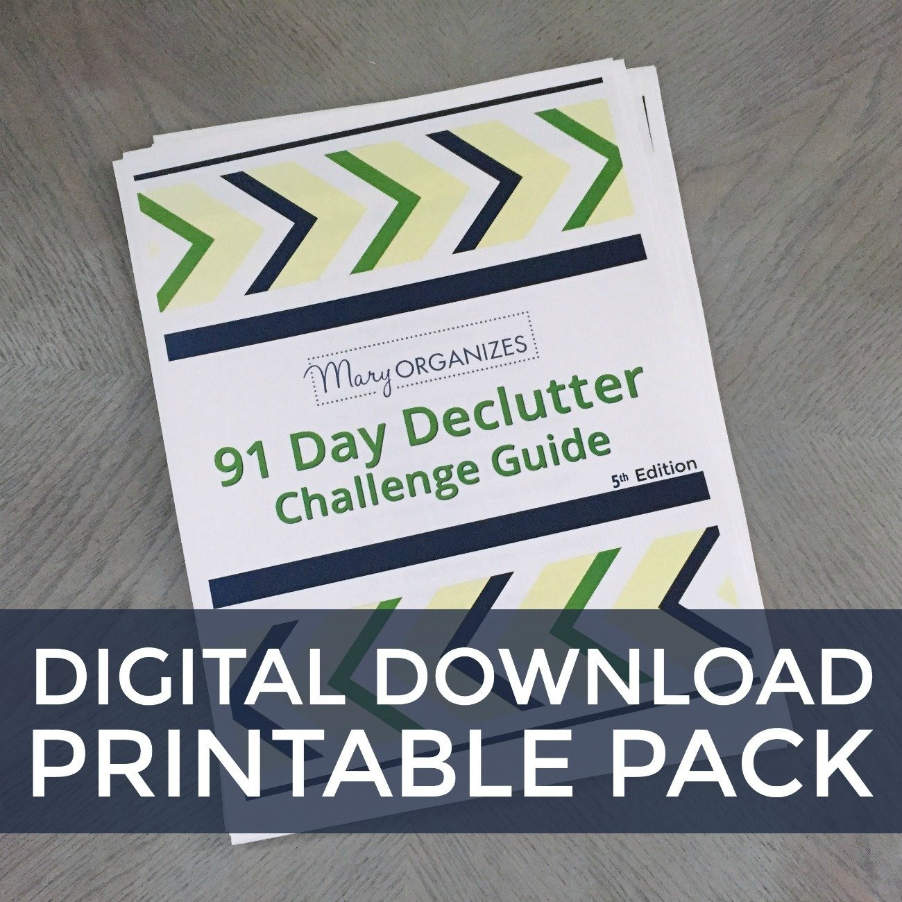 91 Day Declutter Challenge Guide