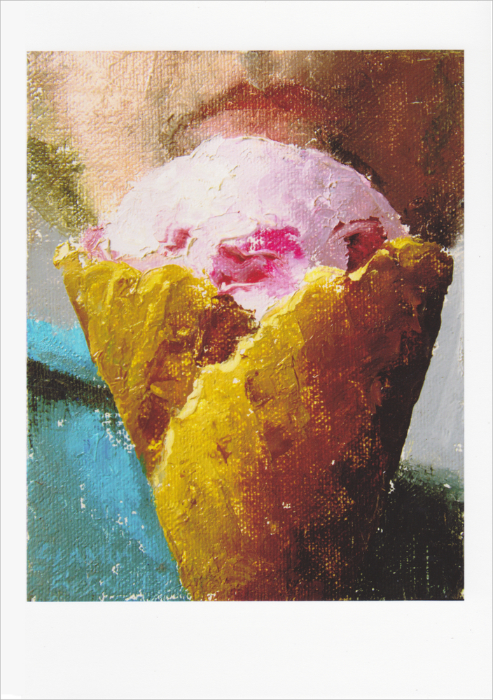 'Smile for Ice Cream' Notecard