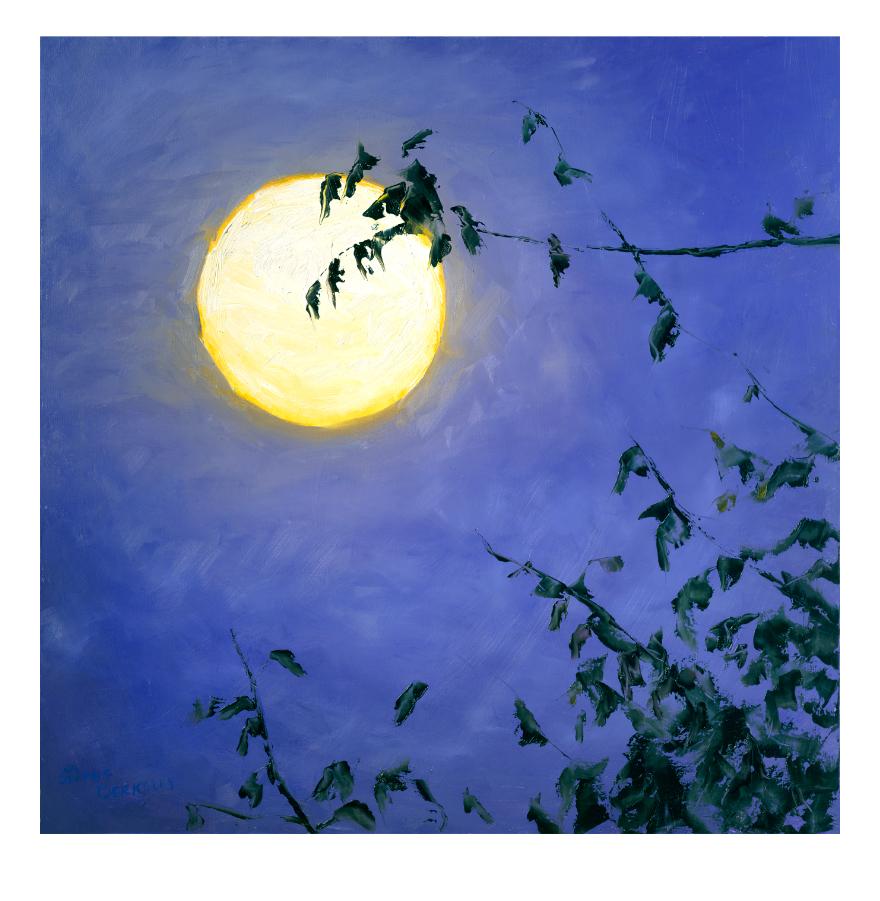 'Full Moon II' Print