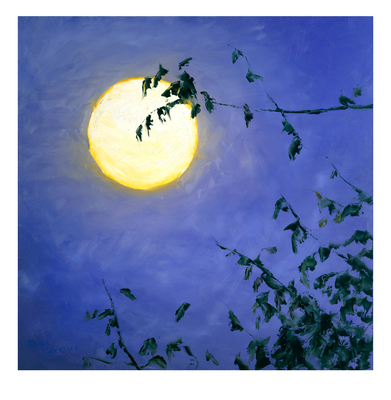 'Full Moon II' Print