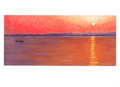 'Varanasi Sunrise' Notecard