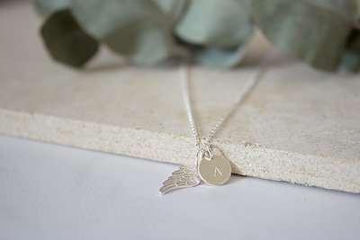 Sterling Silver Wing Necklace ★