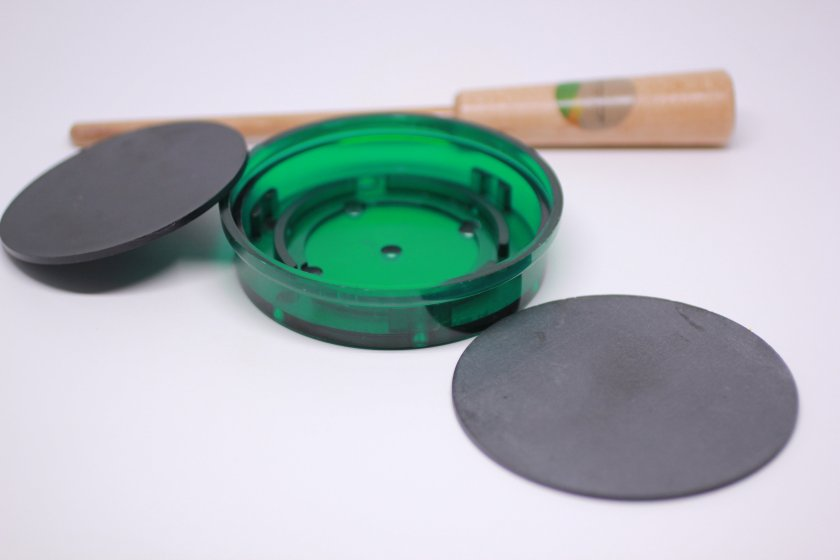 Turkey Pot Call Kit Slate/Polymer (Green) Build Your Own with Free Striker 00267