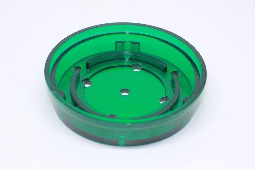 "Turkey Call Pot Green 3/1/2"" Slate or Glass 3"" sound Board"
