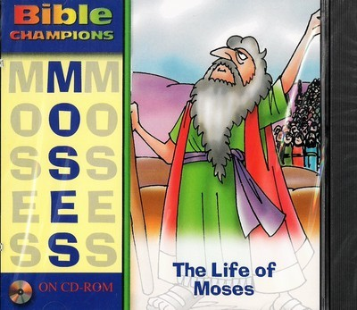 Life of Moses, The (Bible Champions (Baker)) Audio CD – Audiobook
