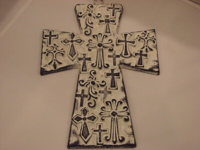 Iron Cross Wall Decor