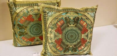 Embroidered Pillows - Set of Two