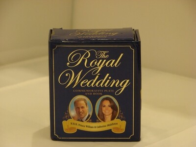 The Royal Wedding Commemorative Plate & Book