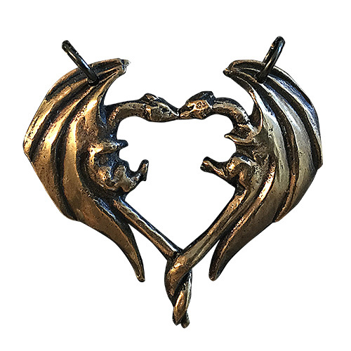 Dragon Heart Pendant DLP18