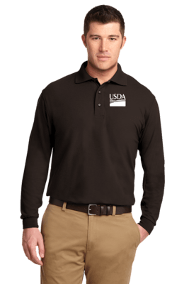 Long Sleeve Unisex Polo