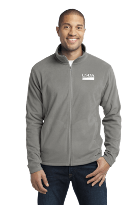Unisex Microfleece Full Zip  Jacket