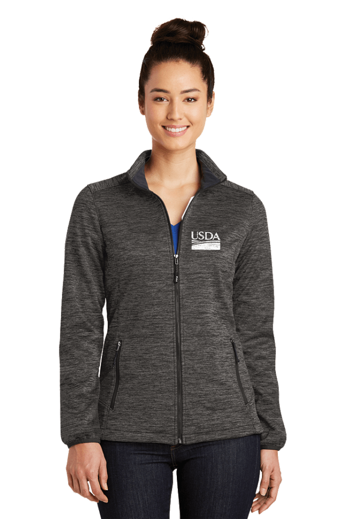 Ladies  Electric Heather Soft Shell Jacket