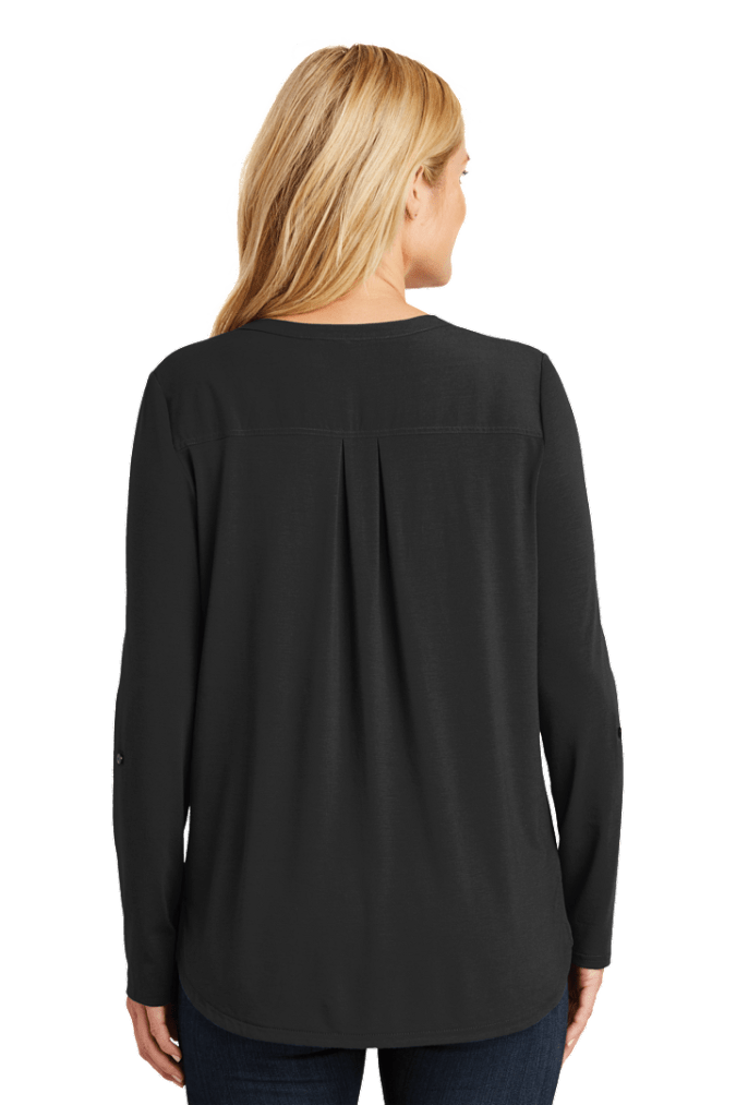 Ladies Concept Henley Tunic