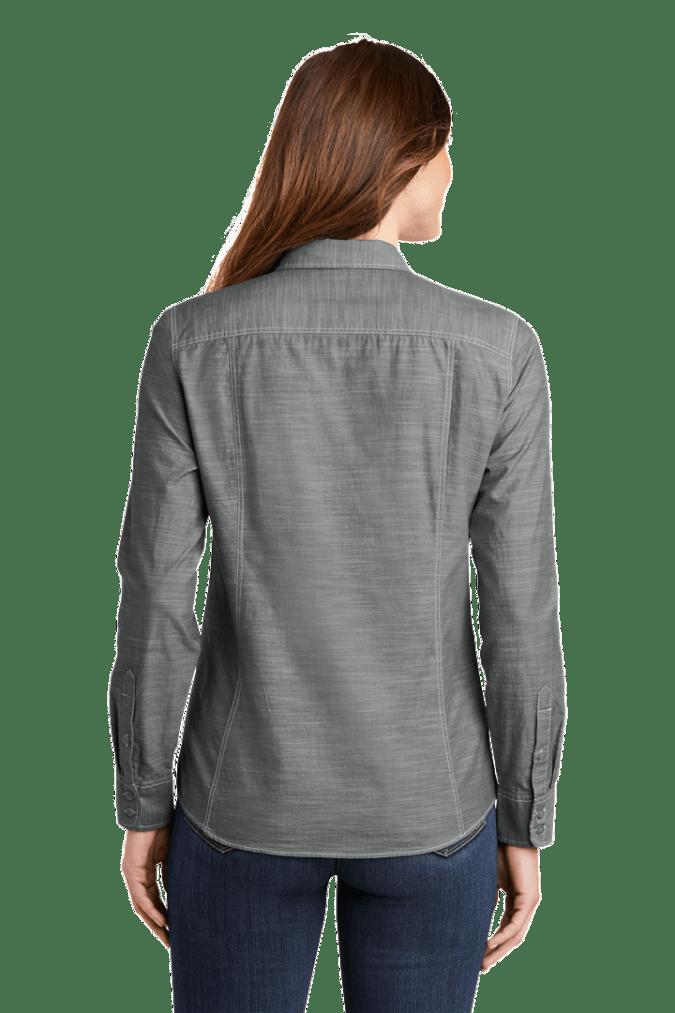 Ladies Slub Chambray Shirt