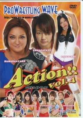 Pro Wrestling WAVE Action! 4 DVD (September and October 2015)