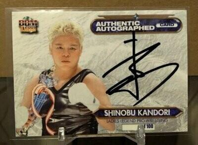 Shinobu Kandori 2001 BBM Limited Autograph /100