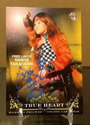 Nanae Takahashi 2010 BBM Joshi True Heart Autograph /26