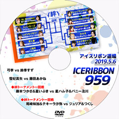 Ice Ribbon New Ice Ribbon #959 on 5/6/19 Official DVD