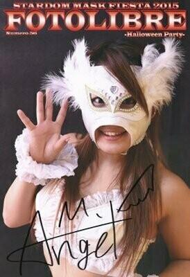 SIGNED (by Midnight Angel) Stardom Mask Fiesta 2015 Foto Libre #56 Photobook