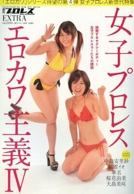 Weekly Pro Wrestling Magazine Erokawa IV featuring Kana and Io Shirai!