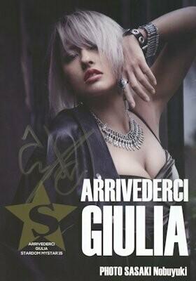 SIGNED ARRIVEDERCI: Giulia MyStar Stardom Photobook